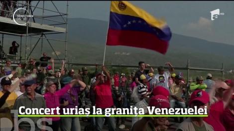 Miliardarul Richard Branson, concert umanitar uriaș la granița Venezuelei
