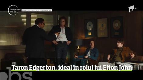 Theron Edgerton, ideal pentru rolul din filmul dedicat tinereții lui Elton John, Rocketmen