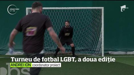 Turneul de fotbal LGBT, la a doua ediție. Timp de două zile, pe teren se luptă şase echipe de amatori