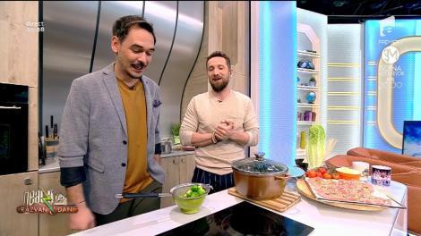 """Matinalii, mari degustători de varză de Bruxelles. Dani: """"Cum o apuci?"""""""