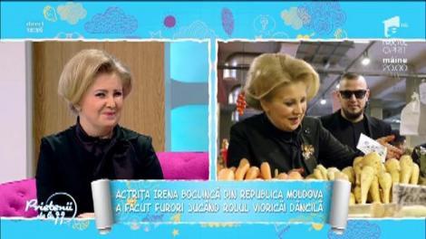 """Cum a ajuns actrița Irena Boclincă să o parodieze pe Viorica Dăncilă la iUmor: """"Mi-au zis că mă pricep să copiez oamenii!"""""""