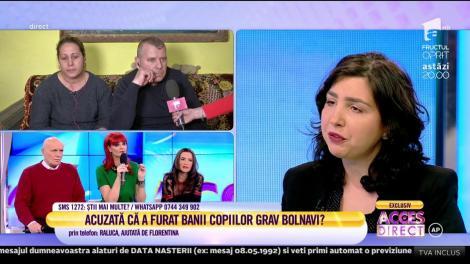 """Acuzată de escrocherie pe Facebook. Florentina: """"Am nevoie de bani să deschid o fundație"""""""