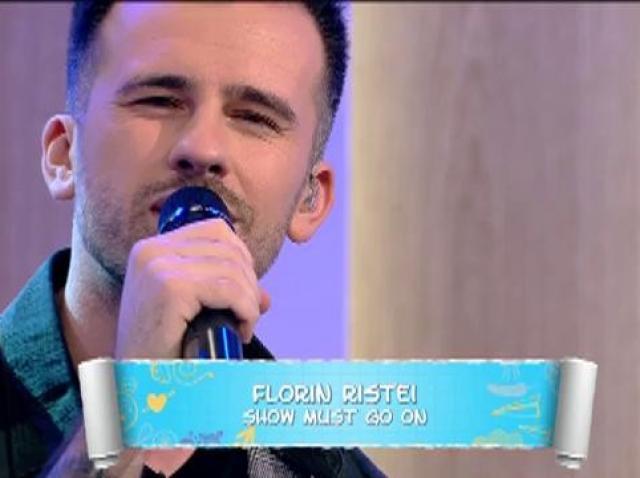 """Florin Ristei, interpretare de senzație în ultima ediție a emsiiunii! """"The Show Must Go"""" a răsunat la  """"Prietenii de la 11""""!"""
