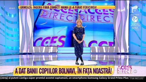 Echipa Acces Direct, măsuri drastice! Ce s-a întâmplat cu Florentina Gavrilă, tânăra care a furat banii bolnavilor din donații