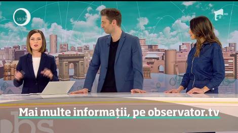 Observatorul de prânz ia o nouă formă, într-o formulă nouă! Andreea Ţopan, Valentin Butnaru şi Olivia Păunescu vă vor aduce altfel de ştiri, începând cu ora 12