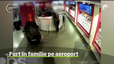 Metodă de furt inventivă pe cel mai aglomerat aeroport din Europa