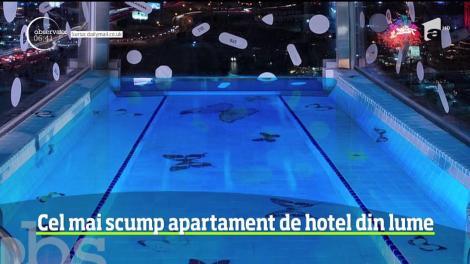 Au fost făcute publice primele imagini cu cel mai scump apartament de hotel din lume. Cât costă o noapte de cazare