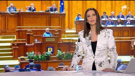"""Viorica Dăncilă nevoită să răspundă punctual unui val de atacuri din partea Opoziţiei: """"Ați ratat primul examen de admitere la liceu?"""""""