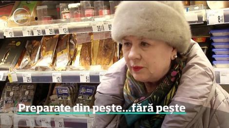 Cârnaţii, parizerul, pateul şi zacusca de peşte câştigă tot mai mult loc pe rafturile supermarketurilor