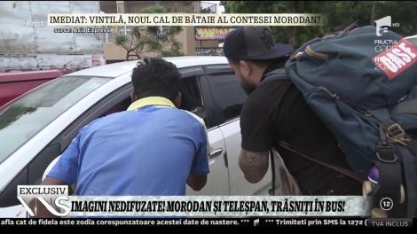 """Imagini nedifuzate din Asia Express. Anca Sigartău și Teodor, târguieli în mijlocul drumului: """"Nu avem bani. vă rugăm! Luaţi-ne, vă rugăm! Am un ceas..."""""""