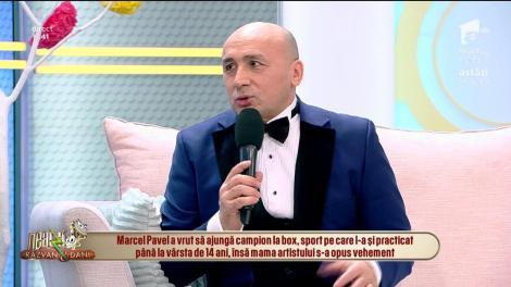 """Marcel Pavel, dedicație specială pentru mama lui: """"Te iubesc"""""""