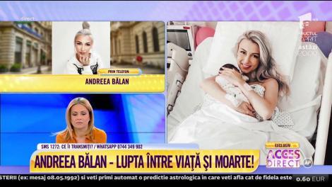 """George, soțul Andreei Bălan, a fost martor la întreaga scenă de resuscitare a artistei: """"Mi-a spus că a vorbit cu mine!"""""""