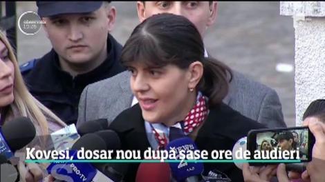 Laura Codruţa Kovesi, pusă sub acuzare într-un al doilea dosar penal