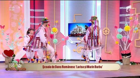 Școala de Dans Românesc Larisa și Marin Barbu, spectacol tradițional pe scena de la Neatza