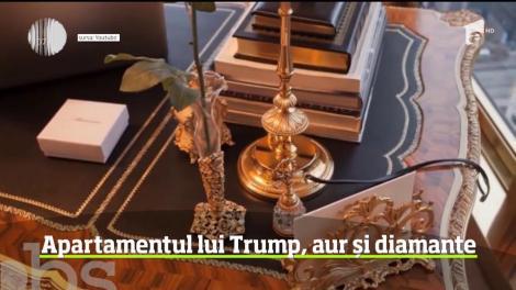 Președintele american Donald Trump deține un penthouse de superlux în inima New York-ului