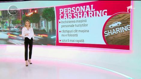 Primul serviciu de car-sharing o să fie lansat în patru oraşe din România