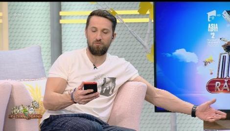 Dani Oțil, contactat de Catrinel Menghia în timpul emisiunii: M-a întrebat cum se alăptează corect!