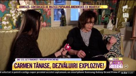 """Carmen Tănase, dezvăluiri emoționante, la """"Acces Direct""""! """"Era un bărbat spectaculos, cu farmec"""""""