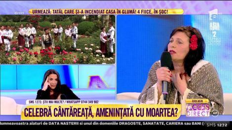 Celebră cântăreaţă de muzică populară, în pericol de moarte?! Maria, sora cântăreței de muzică populară:  E băută și acum!