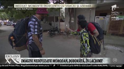 Imagini nedifuzate! Morodan, doborâtă, în lacrimi!