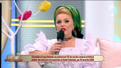 Dorința ascunsă a Corneliei Rednic din copilărie: Îmi doream să fiu doamnă, nu să cânt