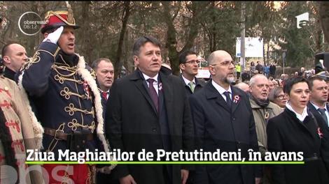 Ziua maghiarilor de Pretutindeni a fost sărbătorită în avans la Târgu Mureș