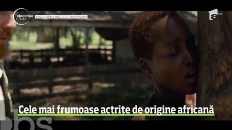 Cele mai frumoase actriţe de origine africană
