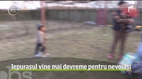Un preot din Iași face minuni pentru copii din familii nevoiaşe, în postul Paștelui! Cum îi ajută pe cei mici