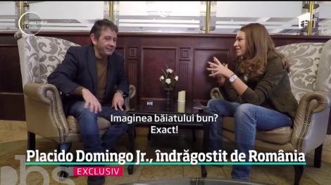 """Placido Domingo Junior, îndrăgostit de ţara noastră: """"Sunt fascinat de limba română!"""""""