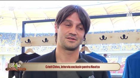 """Cristian Chivu, interviu exclusiv pentru Neatza: """"După voi, Răzvan și Dani, sunt cel mai cunoscut reşiţean din țară"""""""