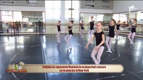 Balerinele din România vor bloca bulevardul Broadway, din New York