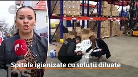 Spitalele româneşti unde pacienţii vin cu o boală şi pleacă cu infecţii intraspitaliceşti sunt igienizate cu soluţii dezinfectante diluate!