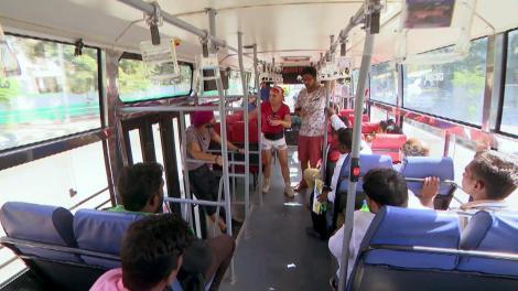 Oamenii din autobuze nu trebuie să coboare înainte de destinație, altfel concurenții vor fi penalizați