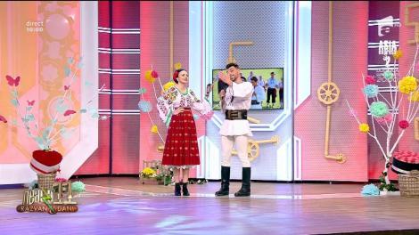 Ciprian Silași și Cosmina Adam cântă, la Neatza: Unde-i dragoste și trăiești cu dor