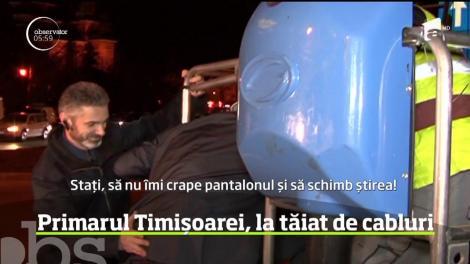 Sute de locuitori din Timişoara şi mai multe firme au rămas fără internet, semnal la telefon şi la televizor!