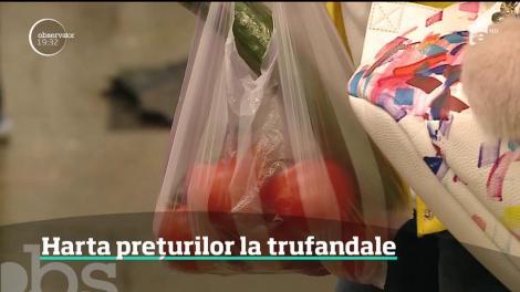 O salată în Dobogea sau în Ardeal este mai scumpă decât în Banat sau Oltenia. Harta prețurilor pentru legumele de primăvară