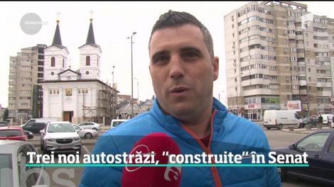 România are trei autostrăzi noi, dar numai pe hârtie. Senatorii au aprobat ca drumurile de mare viteză să fie construite prin lege