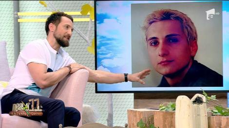 """O poză din studenţie! Dani Oțil, cu părul vopsit roz: """"Şi-a lăsat barbă ca să nu se vadă bârnăul! Îi stătea nasul ca moţul la curcan"""""""