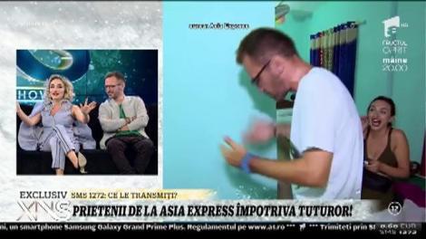 """Adrian Teleșpan, la un pas să fie bătut de Ana Morodan în India: """"E ghiocel când mă duc spre el!"""""""