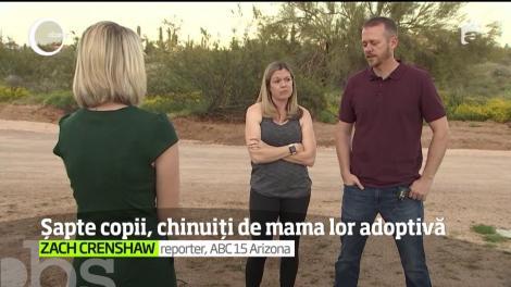 Un nou abuz şocant iese la iveală în Statele Unite. O femeie din Arizona a fost arestată pentru că şi-a chinuit şi înfometat cei şapte copii pe care îi adoptase