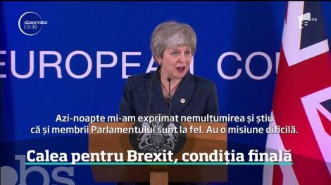 Calea pentru Brexit, condiția finală. Urmează o nouă perioadă plină de incertitudini, iar britanicii par să se fi răzgândit
