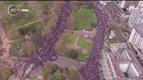 Un milion de oameni împotriva Brexit. Este cel mai mare marş de până acum