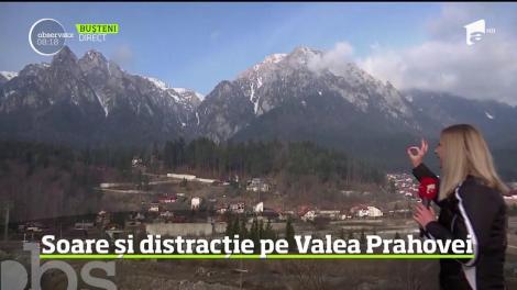 Soare și distracție pe Valea Prahovei. Cum se pot distra turiştii zilele acestea