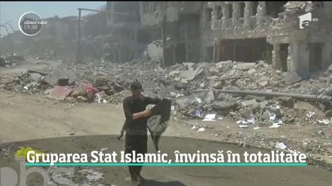 Teroriştii Statului Islamic, învinsă în totalitate