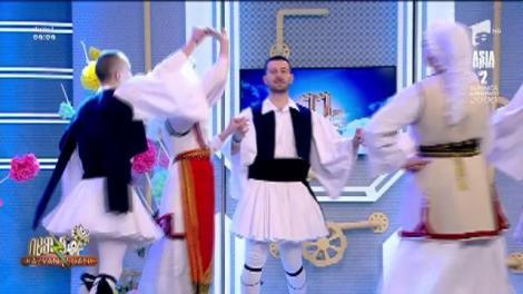 Ansamblul KYMATA al Uniunii Elene din România, Filiala Prahova, dans excepțional în platoul de la Neatza