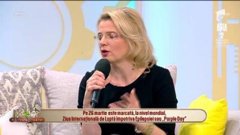 """Epilepsia, o afecțiune extrem de frecventă la copii. Actrița Dorina Chiriac: """"Sunt mama unui copil cu epilepsie"""""""