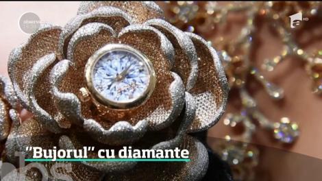 Un ceas cu 15 mii de diamante a fost prezentat în Elveţia