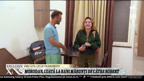 Ana Morodan, luată la bani mărunţi de către Robert!