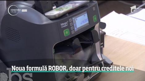 Ce se întâmplă cu creditele românilor! Anunțul făcut despre noua formulă ROBOR