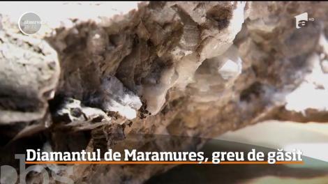 Diamantul de Maramureş, din ce în ce mai greu de găsit